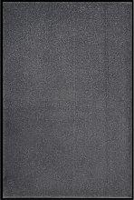 vidaXL Zerbino Antracite 80x120 cm