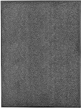 vidaXL Zerbino Lavabile Antracite 90x120 cm