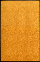 vidaXL Zerbino Lavabile Arancione 120x180 cm