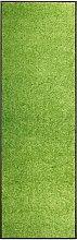 vidaXL Zerbino Lavabile Verde 60x180 cm