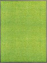 vidaXL Zerbino Lavabile Verde 90x120 cm