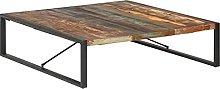 VIENDADPOW Tavolino da Salotto 140x140x40 cm in