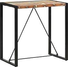 VIENDADPOW Tavolo da Bar 110x60x110 cm in Legno