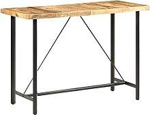 VIENDADPOW Tavolo da Bar 150x70x107 cm in Legno
