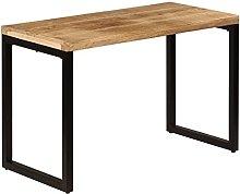 VIENDADPOW Tavolo da Pranzo 115x55x76 cm Legno