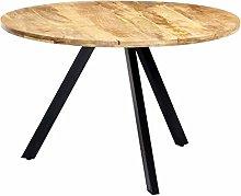 VIENDADPOW Tavolo da Pranzo 120x76 cm Legno
