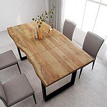 VIENDADPOW Tavolo da Pranzo 180x90x76 cm in Legno