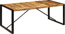 VIENDADPOW Tavolo da Pranzo 200x100x75 cm in Legno