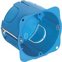 Vimar 0RV71701 Scatola Rotonda, Azzurro, 3 moduli
