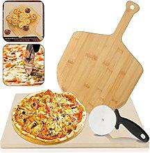 VINGO Pietra Refrattaria per Cottura Pizza, per