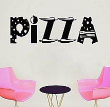 Vinile Adesivo Pizza Citazione Pizza Shop
