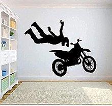 Vinile murale decorazione murale bicicletta da