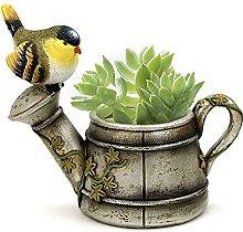 Vintage Uccello Fioriera Mini Succulente