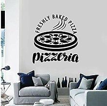 Vinyl Wall Decalcomania Pizzeria Cucina italiana