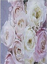 Viola Fiore Bianco Arte Bandiera del Giardino