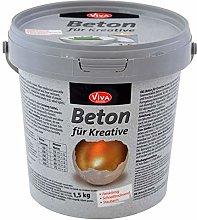 Viva Decor® Cemento creativo (1,5 kg) cemento