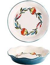 Vobajf Teglia Pan di Cottura in Ceramica Cottura