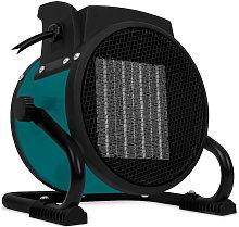 VONROC Termoventilatore elettrico 2000W. Dotato di
