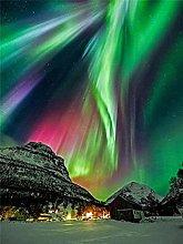 VooZuGn 5D Colore Diamante Aurora Paesaggio