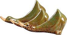 VOSAREA 3Pcs Anatra in Ceramica Figurine Anatre