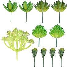 VOSAREA Artificiale Piante Succulente Pianta Falso