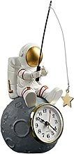 VOSAREA Astronauta Terra Spazio Figurine Orologio