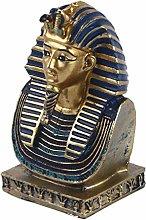 VOSAREA Faraone Egiziano Scultura Ornamento per La