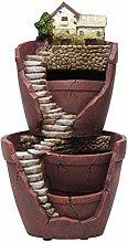 VOSAREA Fee - Vaso da giardino in resina con