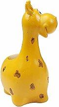VOSAREA Giraffa Vaso di Fiori Resina Animale