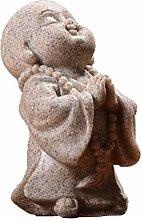VOSAREA Maitreya Statua Buddismo Scultura Feng