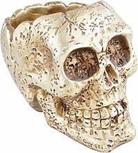 VOSAREA Resina Artificiale Cranio Umano Vaso di