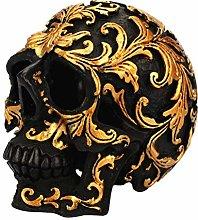 VOSAREA Resina Cranio Statuetta Decorativa Cranio