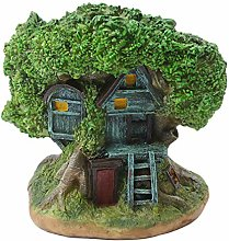 VOSAREA Resina Treehouse Succulente Vaso Creativo
