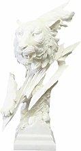 VOSAREA Statuetta Leopardo in Arenaria Scultura