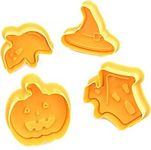 VRHE - Stampo per biscotti 3D a tema Halloween, 4