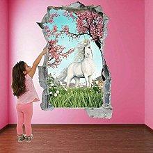 Wall Art Sticker Adesivo murale Fiaba Fantasy con