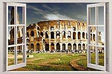Wall Sticker 3D -- Colosseo Roma -- Sticker Murale