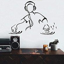 Wall Sticker Creativo Murale Vinile Adesivo Record