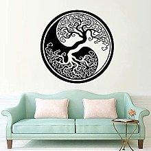 Wall Sticker Moda Creativa Adesivo Fiore Albero