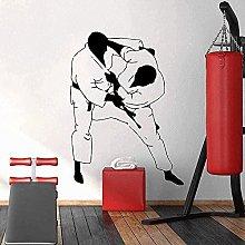 Wall Sticker Palestra Decorazione Moda Judo Carta