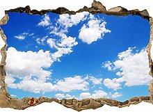 wandmotiv24 Adesivo da Parete 3D Cielo - Natura,