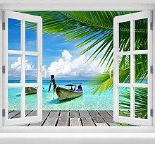 wandmotiv24 Adesivo da Parete 3D Paradiso, Design