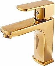 WANDOM Tutto il rame dorato bagno lavabo bagno