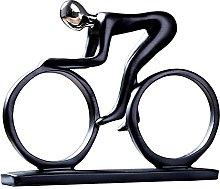 WANZSC YuryFvna Bicicletta Statua Campione