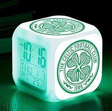 Warm Wallpaper Sveglia a LED da Calcio Sveglia da