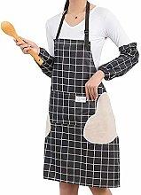 Watwass Grembiule Cucina Donna con Tasche