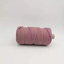 WEDSA DIY corda-3mm colorato intrecciato solido