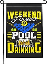 Weekend Forecast Pool with A Chance of Drinking