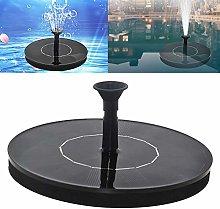 Weichuang - Mini fontana a energia solare, 1 W,