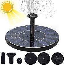 weichuang - Mini fontana solare per fontana, per
